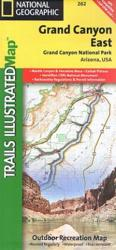 Grand Canyon, East, Map 262 by National Geographic Maps