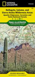Hellsgate, Salome and Sierra Ancha Wilderness by National Geographic Maps