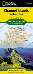 Channel Islands National Park, Map 252 by National Geographic Maps