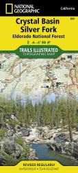 Crystal Basin, Silver Fork and Eldorado National Forest, Map 806 by National Geographic Maps