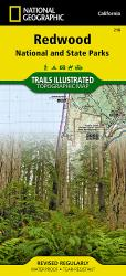 Redwood National Park by National Geographic Maps