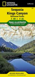 Sequoia and Kings Canyon National Parks by National Geographic Maps