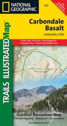 Carbondale Basalt, Colorado, Map 143 by National Geographic Maps