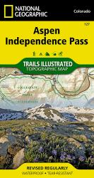 Aspen, Independence Pass, Colorado by National Geographic Maps