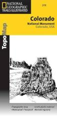 Colorado National Monument, Colorado, Map 208 by National Geographic Maps
