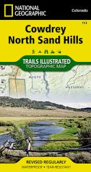 Cowdrey and North Sand Hills, Map 113 by National Geographic Maps