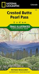 Crested Butte and Pearl Pass, Colorado by National Geographic Maps