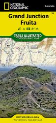 Grand Junction and Fruita, Map 502 by National Geographic Maps