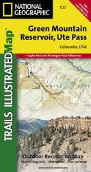 Green Mountain Reservoir and Ute Pass, Colorado, Map 107 by National Geographic Maps