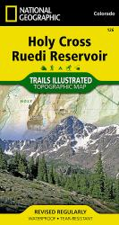 Holy Cross and Reudi Reservoir, Map 126 by National Geographic Maps