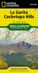 La Garita and Cochetopa Hills, Map 139 by National Geographic Maps