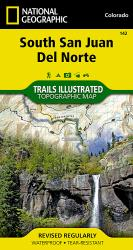 South San Juan and Del Norte, Colorado, Map 142 by National Geographic Maps