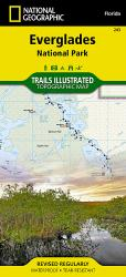 Everglades National Park, Map 243 by National Geographic Maps