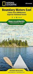 Boundary Waters Canoe Area Wilderness, East, MN, Map 752 by National Geographic Maps