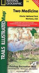 Glacier National Park, Two Medicine by National Geographic Maps