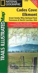 Cades Cove, Great Smoky Mountains National Park, Map 316 by National Geographic Maps