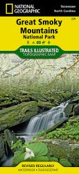 Great Smoky Mountains National Park, Map 229 by National Geographic Maps
