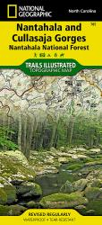 Nantahala and Cullasaja Gorges, Map 785 by National Geographic Maps