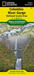 Columbia River Gorge National Scenic Area, Map 821 by National Geographic Maps