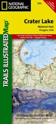 Crater Lake National Park, Map 244 by National Geographic Maps