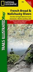 Cherokee and Pisgah National Forests by National Geographic Maps