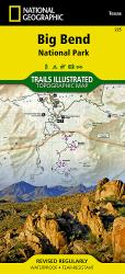 Big Bend National Park, Texas, Map 225 by National Geographic Maps