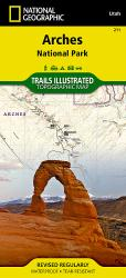 Arches National Park, Map 211 by National Geographic Maps