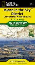 Canyonlands National Park, Island in the Sky District, Map 310 by National Geographic Maps