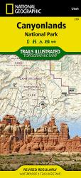 Canyonlands National Park, Utah, Map 210 by National Geographic Maps