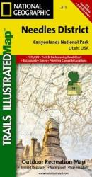 Canyonlands National Park, Needles District, Map 311 by National Geographic Maps