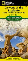Canyons of the Escalante, Utah by National Geographic Maps