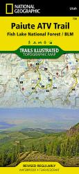 Paiute ATV Trail by National Geographic Maps