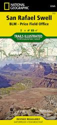 San Rafael Swell by National Geographic Maps