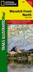 Wasatch Front, North, Map 709 by National Geographic Maps