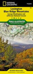 Lexington and Blue Ridge, Virginia by National Geographic Maps