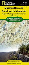 Massanutten and Great Northern Mountains, Virginia by National Geographic Maps