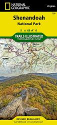 Shenandoah National Park, Map 228 by National Geographic Maps