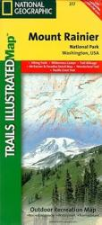 Mount Rainier National Park, Map 217 by National Geographic Maps