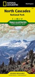 North Cascades National Park, Map 223 by National Geographic Maps