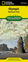 Olympic National Park,  Map 216 by National Geographic Maps
