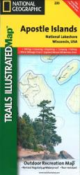 Apostle Islands National Lakeshore, Map 235 by National Geographic Maps