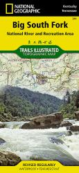 Big South Fork Nat'l River and Rec Area, KY/TN, Map 241 by National Geographic Maps