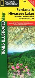 Fontana and Hiwasee Lakes and Nantahala National Forest, Map 784 by National Geographic Maps