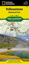Yellowstone National Park by National Geographic Maps