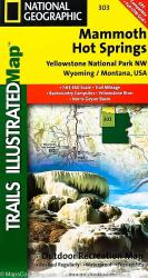 Yellowstone Northwest, Mammoth Hot Springs by National Geographic Maps