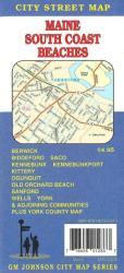 Maine, South Coast Beaches including Biddeford, Saco, York and Kennbunkport by GM Johnson