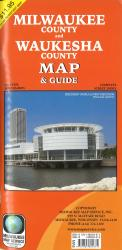 Milwaukee County and Waukesha County, Wisconsin by Milwaukee Map Service
