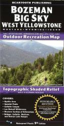 Bozeman/Big Sky West Yellowstone trail map