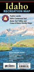 Idaho Recreation Map by Benchmark Maps