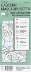 Massachusetts, Eastern, Road and Bicycle Map by Rubel BikeMaps